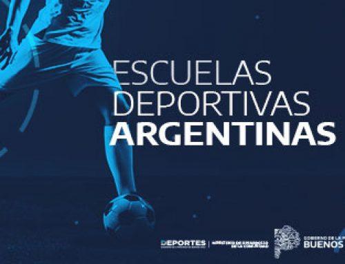 RETORNAN LAS ESCUELAS DEPORTIVAS ARGENTINAS