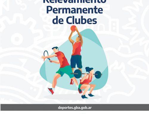 LA SUBSECRETARÍA DE DEPORTES INFORMA QUE HAY 5131 CLUBES EN LA PROVINCIA