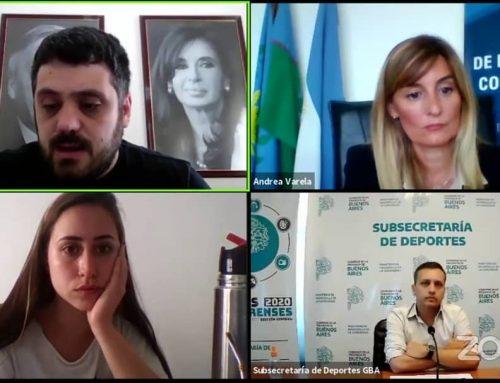 JAVIER LOVERA INAUGURÓ EL CONGRESO DE PERIODISMO DEPORTIVO DE LA UNLP